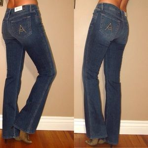 7 For All Mankind Bootcut A Pocket Jeans 24-28